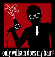 Only William Does My Hair Logo